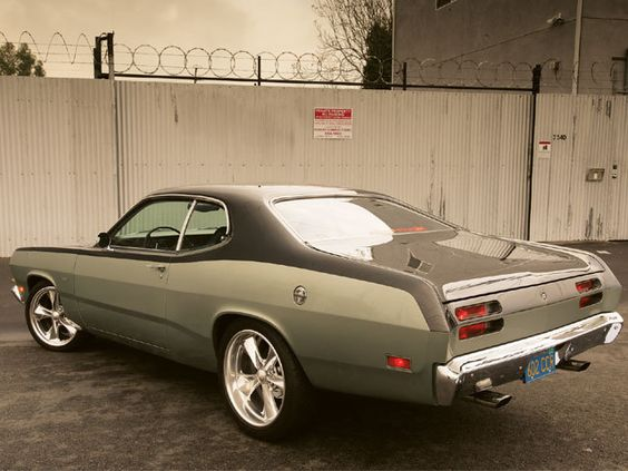 Kenny Wayne Shepard's 1970 Plymouth Duster