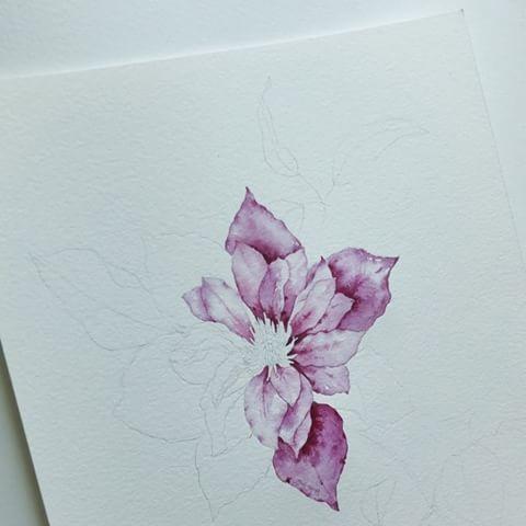 그림슬럼프 간만에 스케치 꼼꼼 예쁜그림을 그리고 싶 예뻐져라