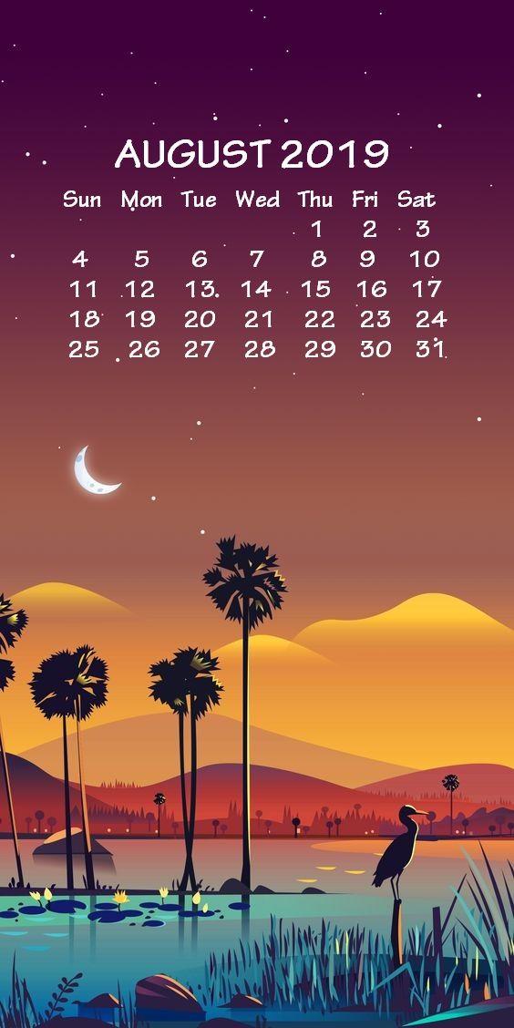 Iphone August 2019 Calendar Wallpaper Calendar Wallpaper Desktop Calendar August Wallpaper
