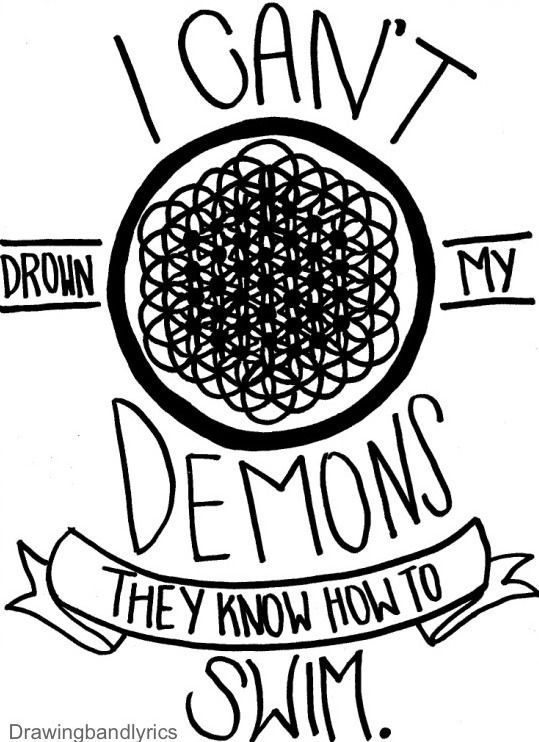 I draw band lyrics coloring pages pinterest lyrics for Twenty one pilots coloring pages