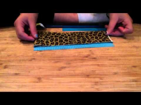 The o 39 jays how to make and wallets on pinterest for Super easy duct tape crafts