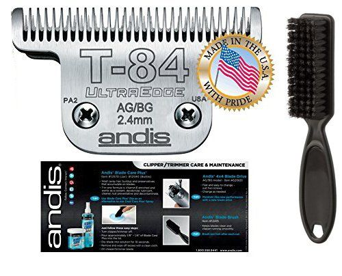 Andis Equine Ultraedge T84 Extra Wide Horse Blade For Detachable