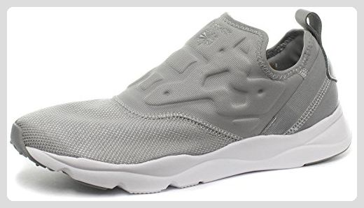 Reebok Classic Furylite Slip Contemporary Damen Sneakers, Grau, Größe 42