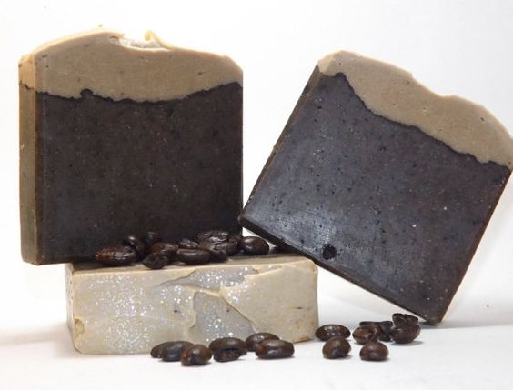 Creamy Hand Crafted Coffee Cake Soap by DayDreamSoaps on Etsy