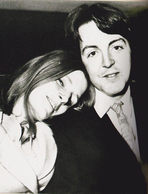 Linda and Paul McCartney #love
