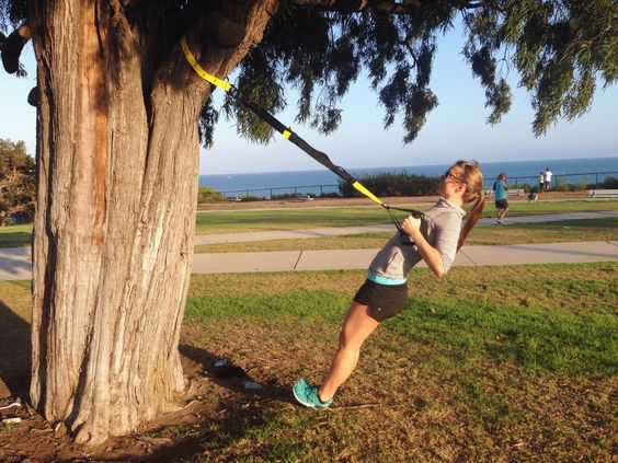 New toy for my TAP workout! TRX training is the best!  For more information, check out http://bethalexanderfitness.com  #health #fitness #TRX #workout #bethalexanderfitness