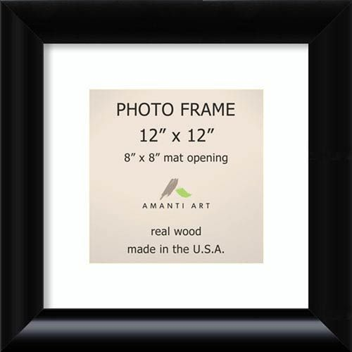 Amanti Art Dsw1385350 Steinway 15 X 15 In Picture Frame In Black Contemporary Modern Bellac In 2020 Picture Frame Sizes Amanti Art Black Photo Frames