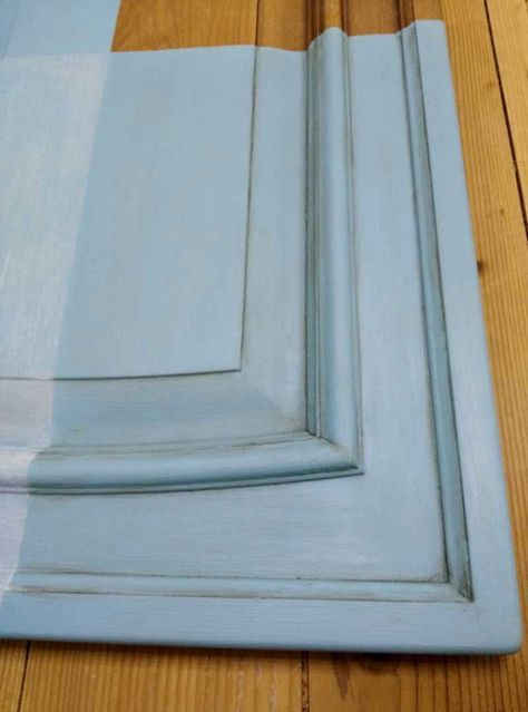 verniciare le ante di una cucina con la vintage paint ...