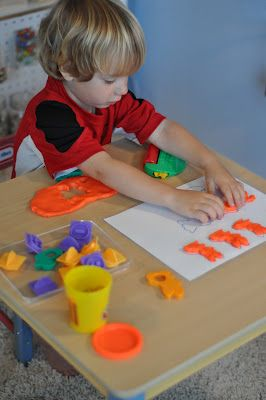DIY Play Doh Mats