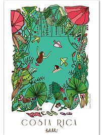 hola lola costa rica prints: