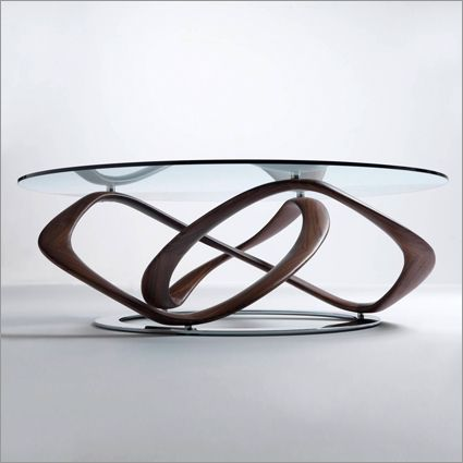 Porada Infinity Round Glass Coffee Table Walnut Or Ash House Ideas Pinterest Ash Round Glass And Glasses