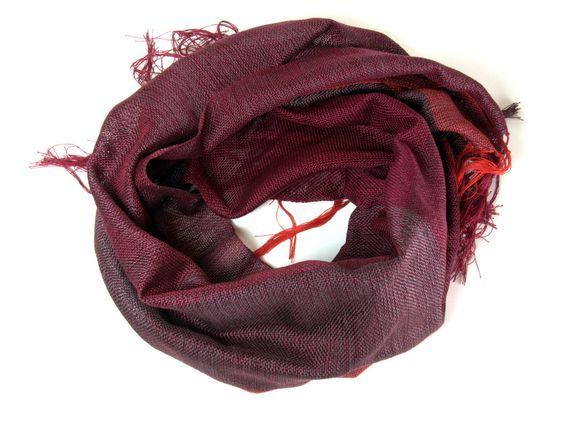 Arianna handwoven cotton scarf