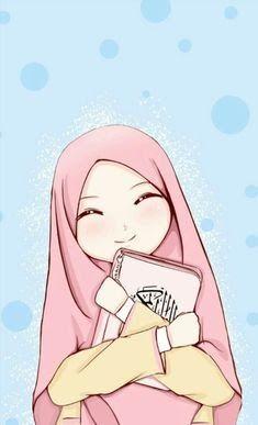 30 Gambar Kartun Hijab Dan Tulisan 663 Best Cartoon Muslimah Images Anime Muslim Islamic Download 16 Kary Di 2020 Lukisan Keluarga Ilustrasi Karakter Seni Islamis