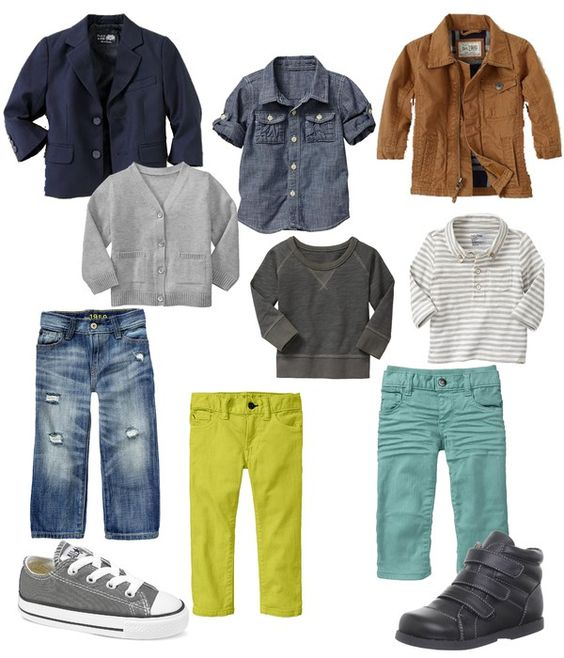 11 Gap pieces, over 20 outfits! Cute for Caden's 1st year of school, I want it all!!!