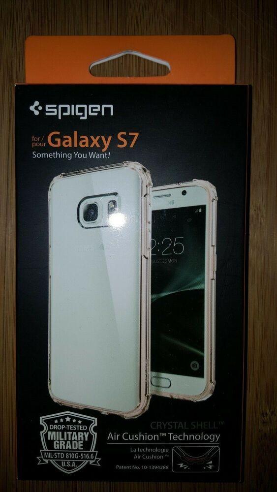 New Spigen Crystal Shell Hard Phone Case For Samsung Galaxy S7 Clear Rose Spigen Ebay Ebaystore Hazelbugboutique Galaxy Galaxy S7 Samsung Galaxy