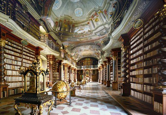 National Library, Prague.