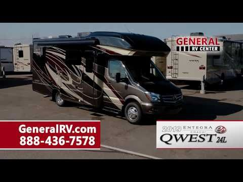 General Rv Center 2019 Entegra Coach Qwest 24l Class C Diesel Motorhome Youtube Entegra Coach Class A Motorhomes Motorhome