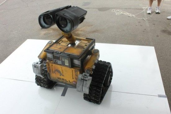 Guy spends two years building amazing life-size, working WALL-E