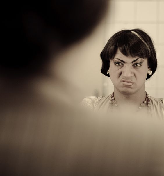"""Personagem """"Nalda"""". Foto por Avener Prado."""