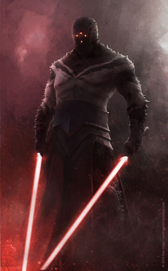 Star Wars: Sith Concept Illustrations - Created by Max Hugo