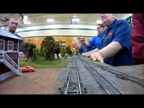 Cab Ride: Waupaca Area Model Railroaders - YouTube