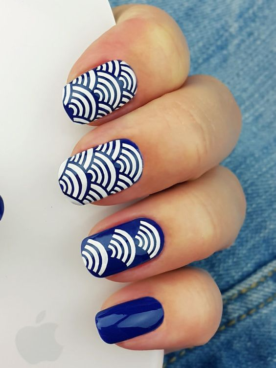 Wi-Fi Nail Art Stencils incredible nail art vinyls by by Unail
