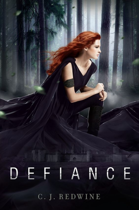 Finally! The gorgeous, FIERCE cover for DEFIANCE!: