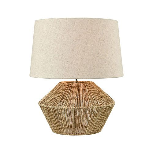 Elk Home D3781 Vavda 19 In One Light Table Lamp In Natural Brown Coastal Bellacor In 2020 Natural Table Lamps Table Lamp Wood Coffee Table Lamp