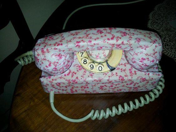 Telefone com tecido