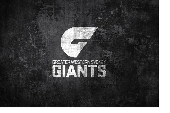 GWS Giants (Greater Western Sydney Giants) AFL Team - logo design