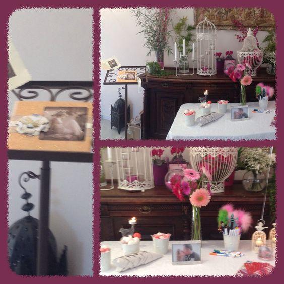 Mesa de firmas pa una boda muy especial