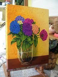 Resultado de imagen para cuadros de flores hortensias