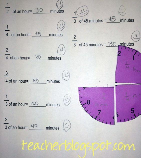 math worksheet : fraction clock worksheets  temporal concepts  pinterest  clock  : Fraction Concepts Worksheets