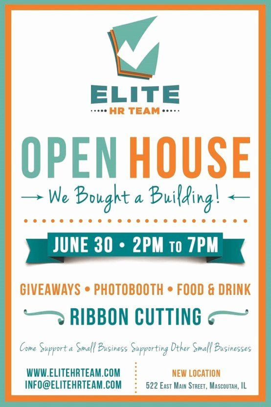 Business Open House Flyer Template Best Of 6 Open House Flyer Templates Website WordPress Blog Flyer Template Open House Flyer Flyer Template Free
