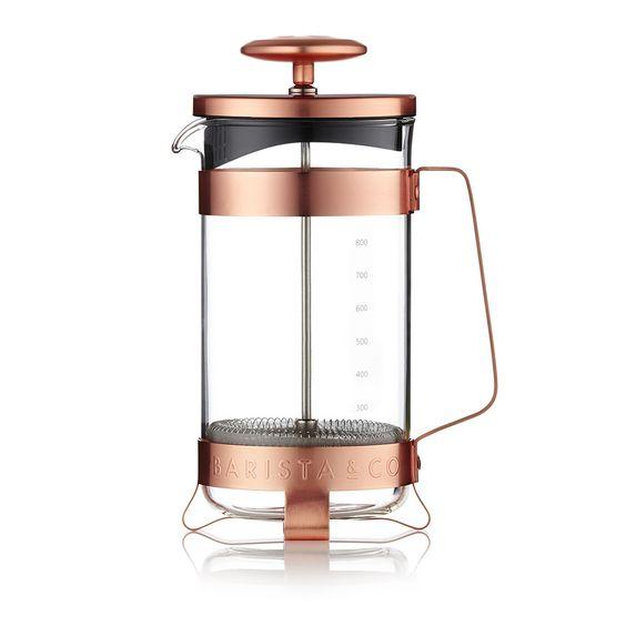 Discover the Barista & Co Milchaufschäumer - 8 Tassen - Electric Copper at Amara