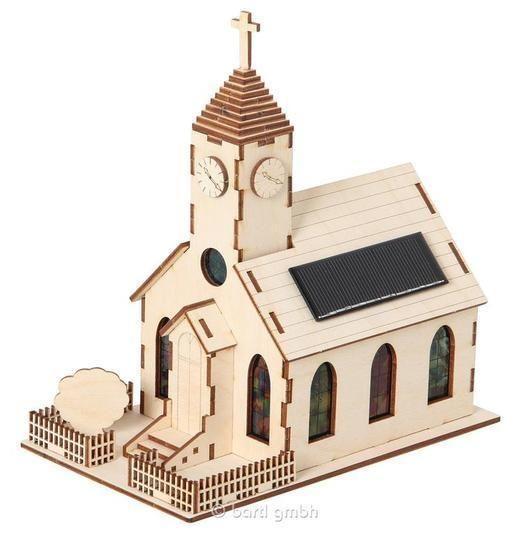 Solar Holzkirche Bausatz 110485