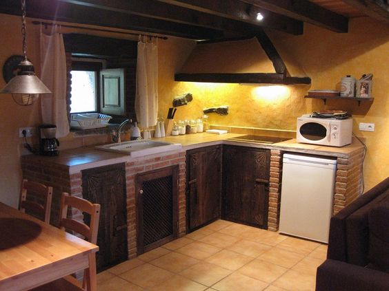 Decoraci n de cocinas rusticas buscar con google - Imagenes de cocinas rusticas de obra ...
