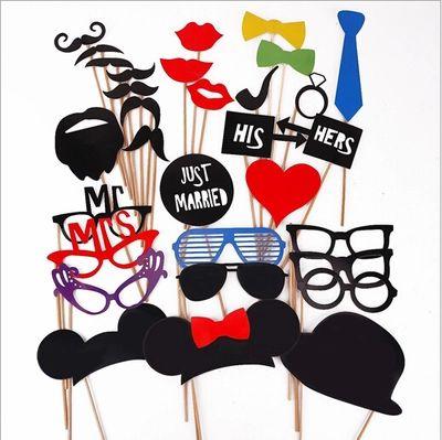 人气爆款趣味派对婚礼道具 时尚个性拍照道具-礼帽眼镜胡子-淘宝网