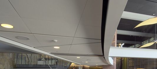 Conwed Wall Technologies New Dimensions Acoustical Ceiling Panels Acoustical Ceiling Ceiling Panels Paneling