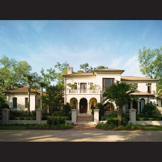 Mediterranean Exterior Design House Characteristics: #Mediterranean Architecture Influenced The Look And