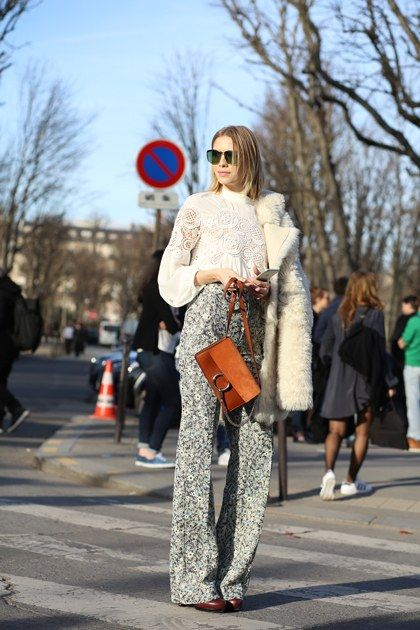 Paris Fashion Week Street Style Fall 2015   Teen Vogue