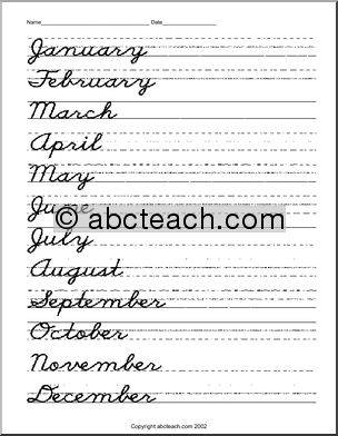 Free Cursive Words Worksheets - Printable | K5 Learning | for ...