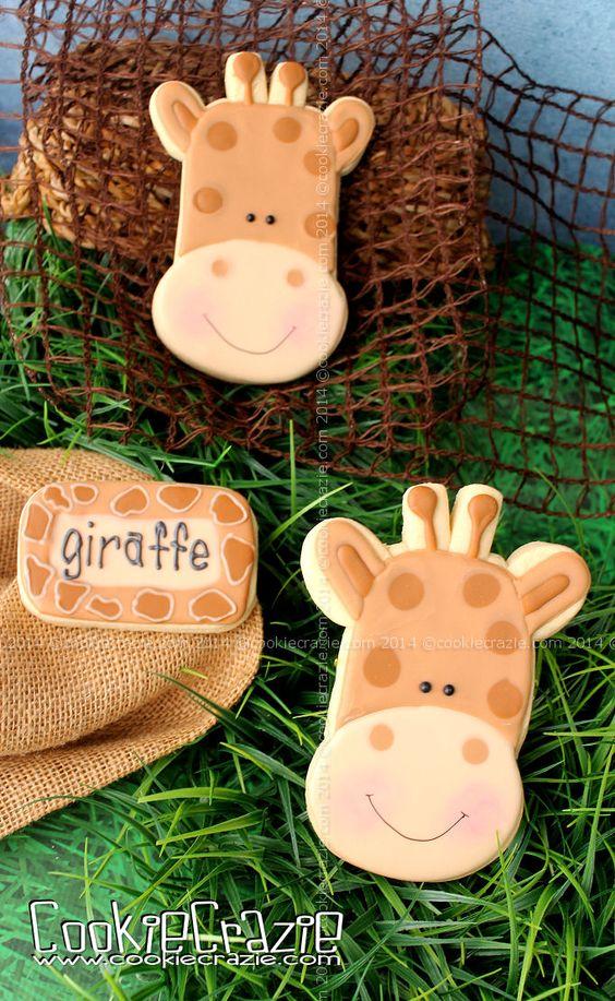 CookieCrazie: Giraffe Cookies (Tutorial)