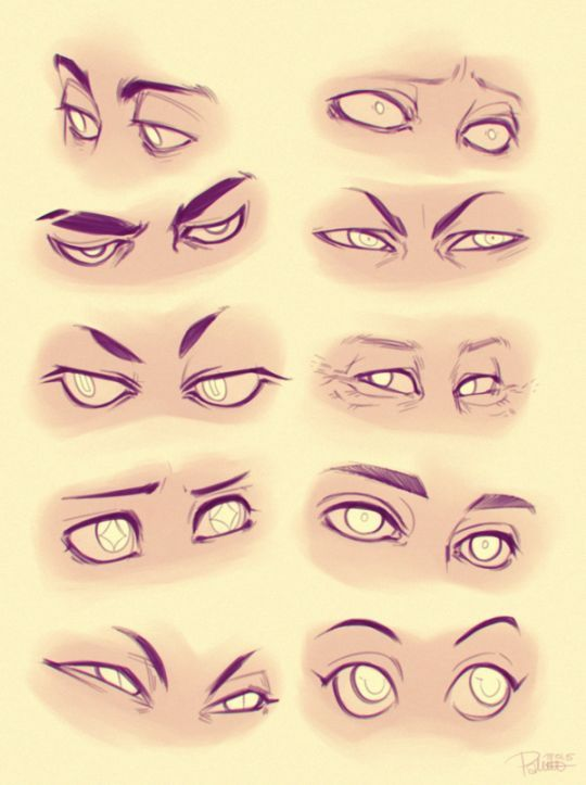 How To Draw Squinting Eyes 8 Images Drawing Reference In
