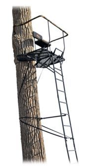 Big Game Treestands The Ultra-View DX™ Ladder Stand   Bass Pro Shops
