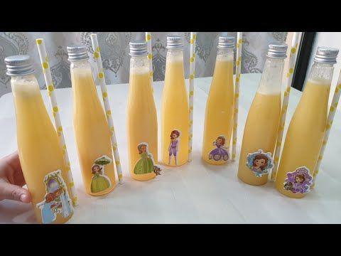 عندك موزة وتفاحة وبرتقالة إذن حضري ألذ عصير كوكتيل للأطفال والمدارس لكامل الأسبوع Youtube Voss Bottle Water Bottle Bottle