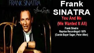 frank sinatra you and me - YouTube