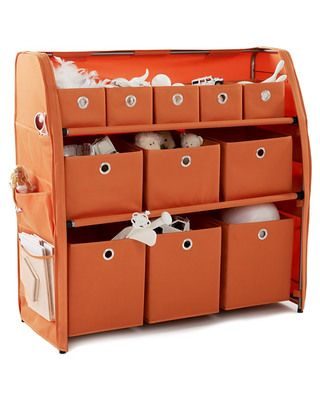 cool looking organizer for kids toys, or clothes, or craft supplies