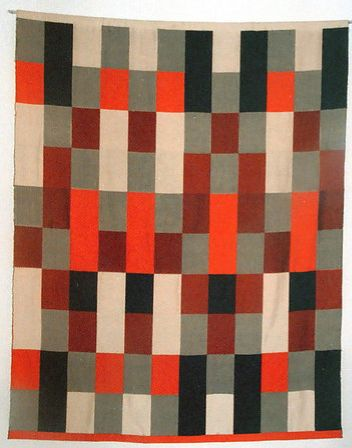 tapis et tissus de gunta st lz bauhaus textiles grey. Black Bedroom Furniture Sets. Home Design Ideas