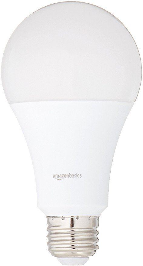 Amazonbasics 100 Watt Equivalent Daylight Non Dimmable A21 Led Light Bulb 6 Pack Led Light Bulb Led Light Bulbs Bulb